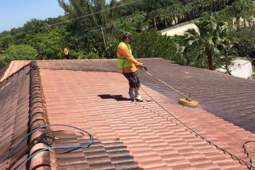 Peoples Choice Pressure Cleaning Roof